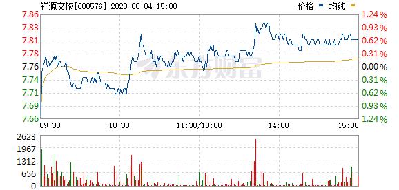 祥源文化(600576)