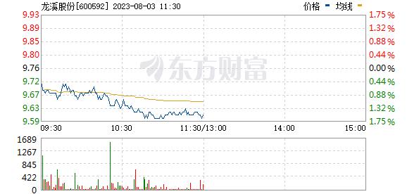 龙溪股份(600592)
