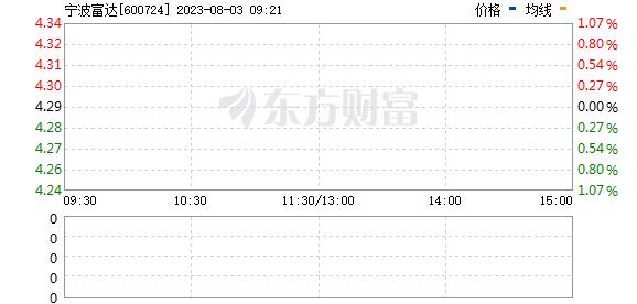 宁波富达(600724)