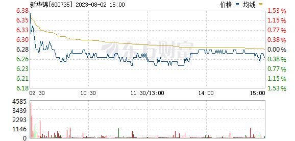 新华锦(600735)