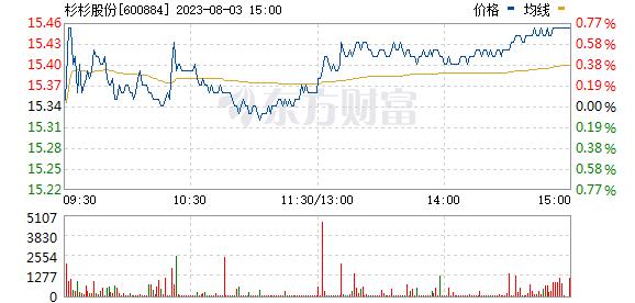 杉杉股份(600884)