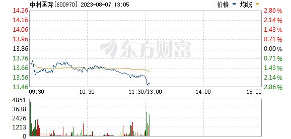中材国际(600970)