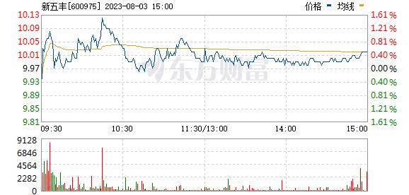 新五丰(600975)