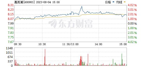 惠而浦(600983)
