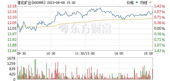 淮北矿业(600985)