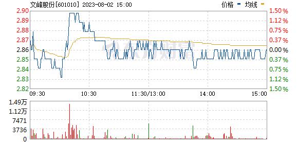 文峰股份(601010)