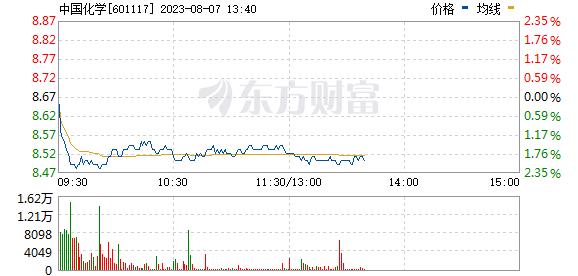 中国化学(601117)
