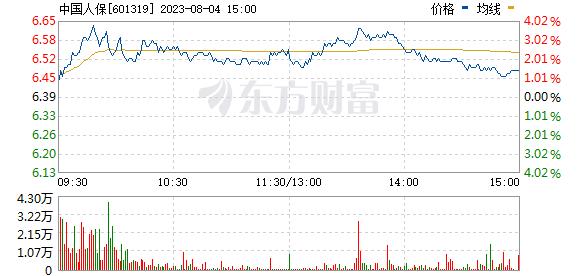 中国人保(601319)