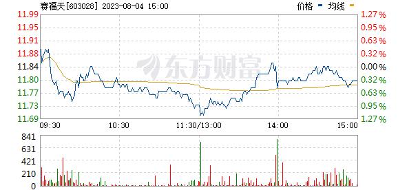 赛福天(603028)