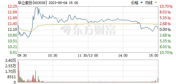 华立股份(603038)