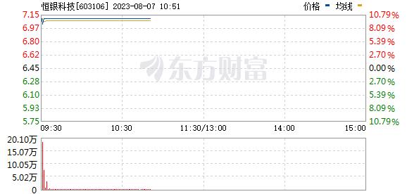 恒银金融(603106)