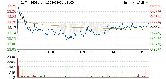 上海沪工(603131)