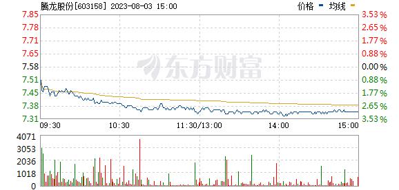 腾龙股份(603158)