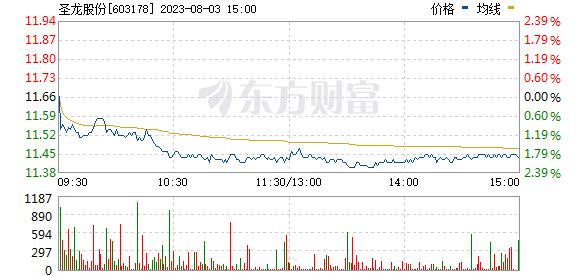 圣龙股份(603178)