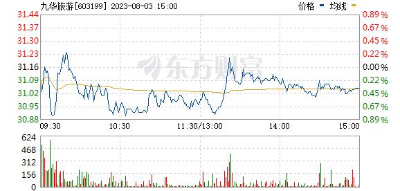 九华旅游(603199)