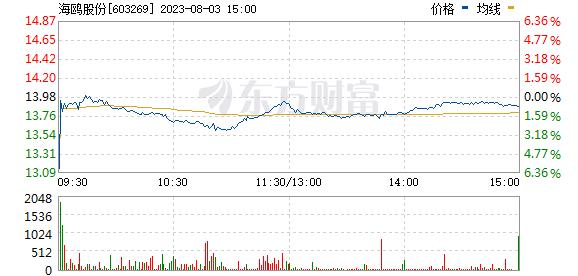 海鸥股份(603269)