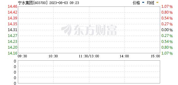 宁水集团(603700)