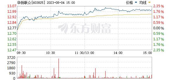 华扬联众(603825)