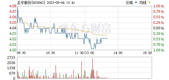 正平股份(603843)