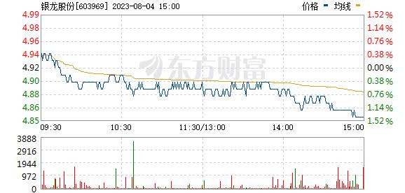 银龙股份(603969)