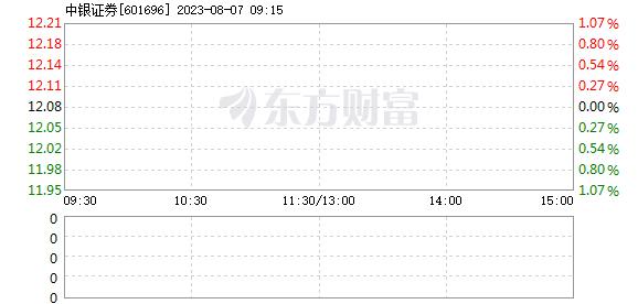 中银证券1月6日快速上涨