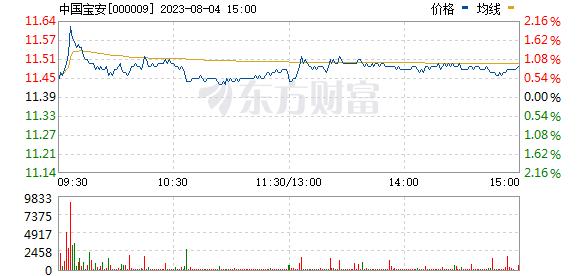 中国宝安(000009)