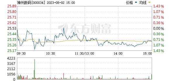 神州数码(000034)
