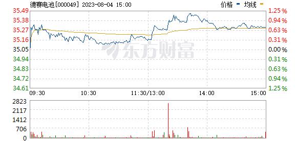 德赛电池(000049)