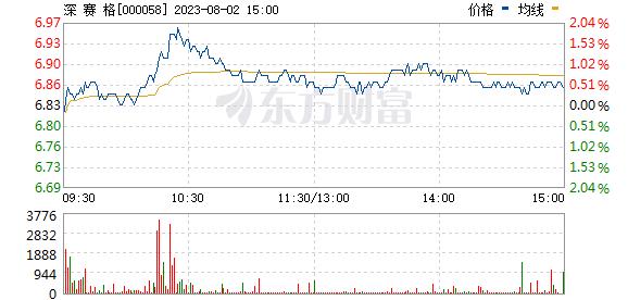 深赛格(000058)
