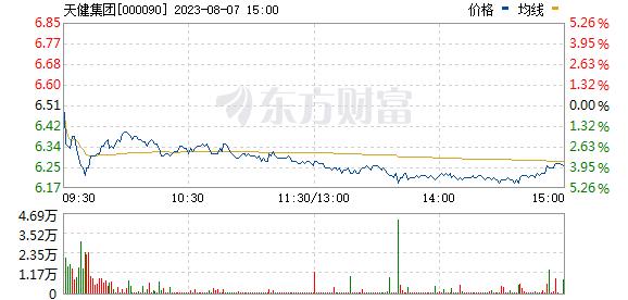 天健集团(000090)