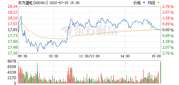 东方市场(000301)