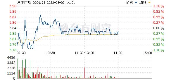 合肥百货(000417)