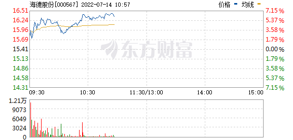 海德股份(000567)