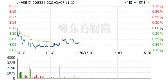 北部湾港(000582)