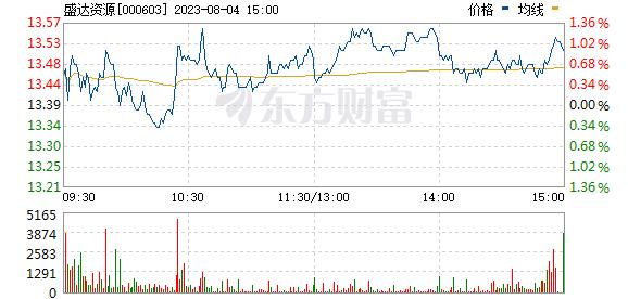 盛达矿业(000603)