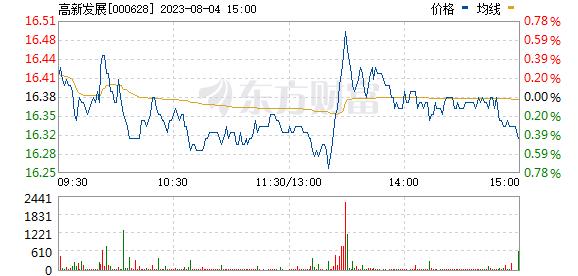 高新发展(000628)