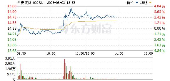 西安饮食(000721)