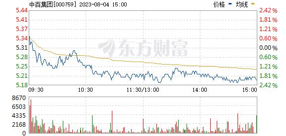 中百集团(000759)