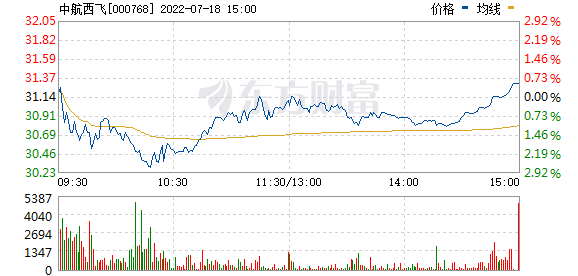 中航飞机(000768)