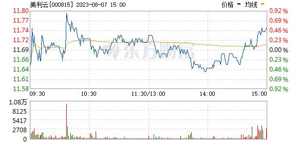 美利云(000815)
