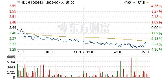 三湘印象(000863)