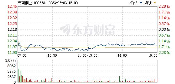 云南铜业(000878)