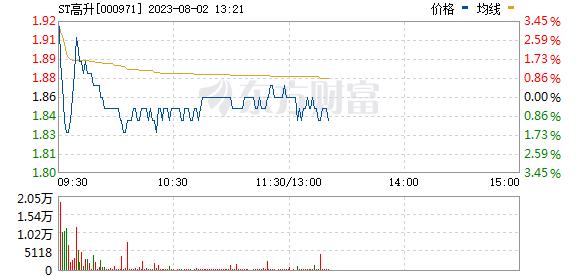 高升控股(000971)