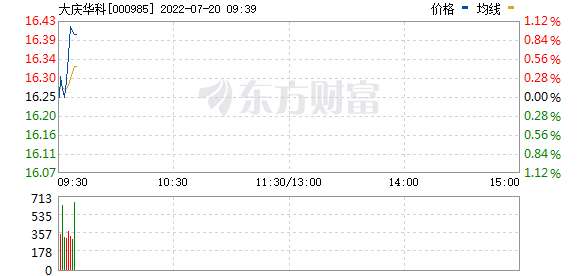 大庆华科(000985)