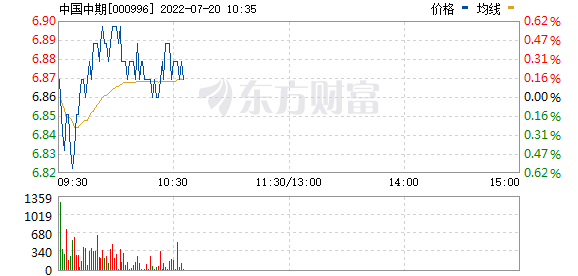 中国中期(000996)