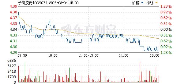 沙钢股份(002075)
