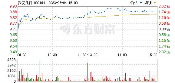 武汉凡谷(002194)