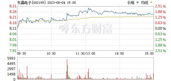 东晶电子(002199)
