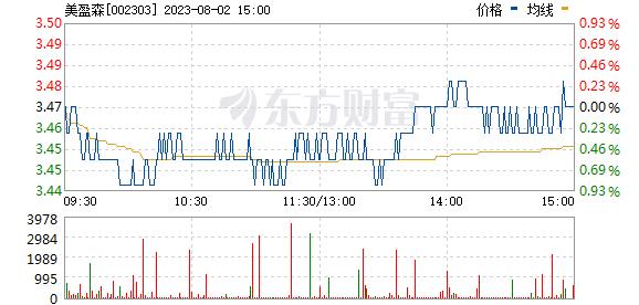 美盈森(002303)