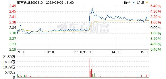 东方园林(002310)